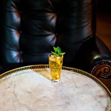 crisp green   tea cocktail