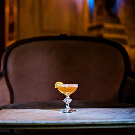 toasted   lemon cocktail