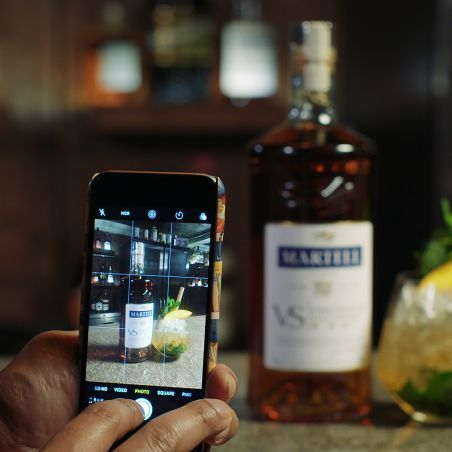 Cocktails on Instagram