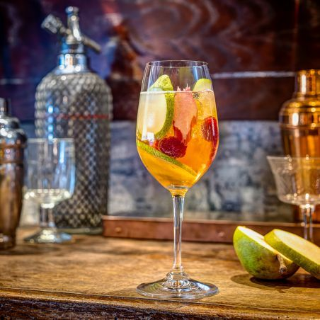 Seasonal Spritz Cocktail by Rich Woods