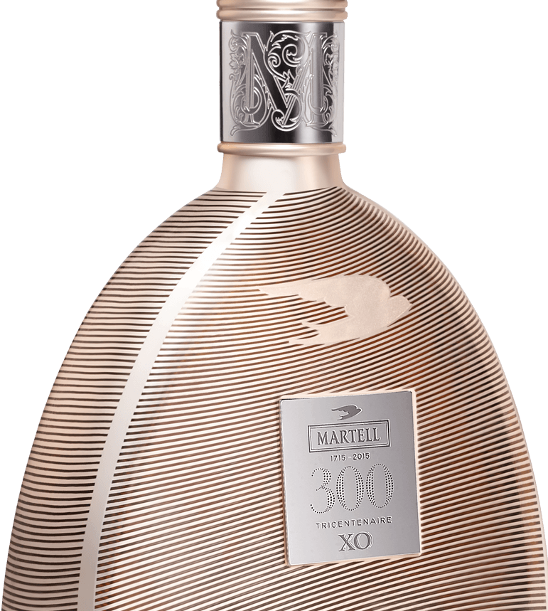 martell cognac XO 300 edition bottle