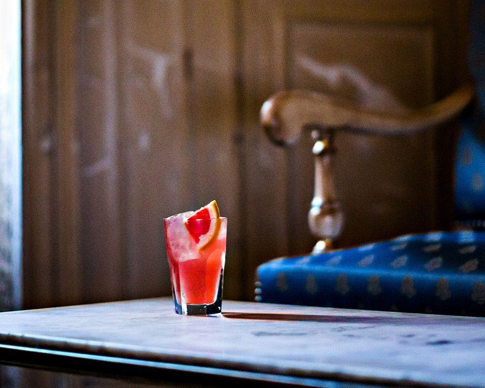 cognac cocktail recipe blush