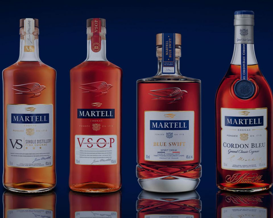 Martell Cognac Collection