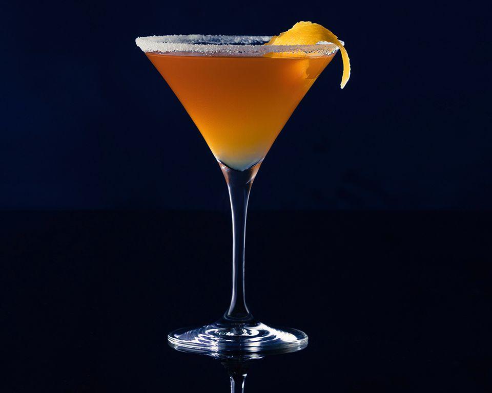Blue Crusta  - Cocktail