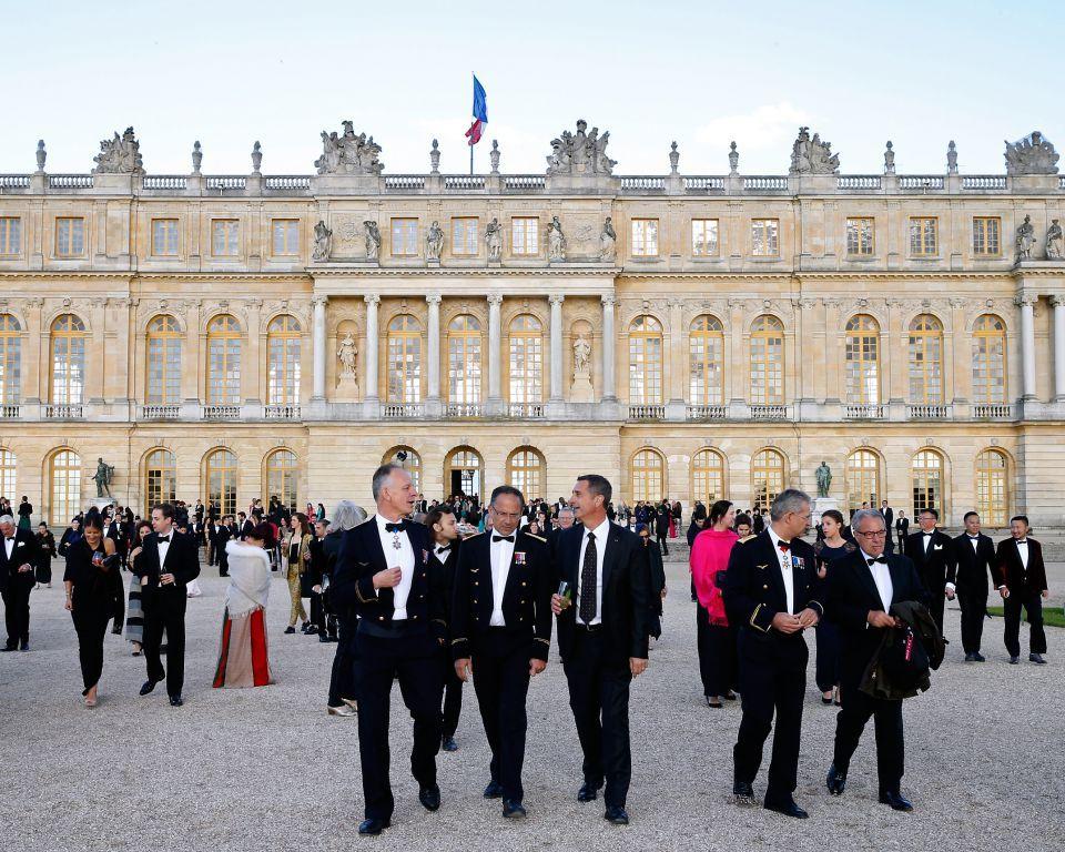Khách VIP của Martell tại cung điện Versailles nhân dịp lễ kỷ niệm Martell 300