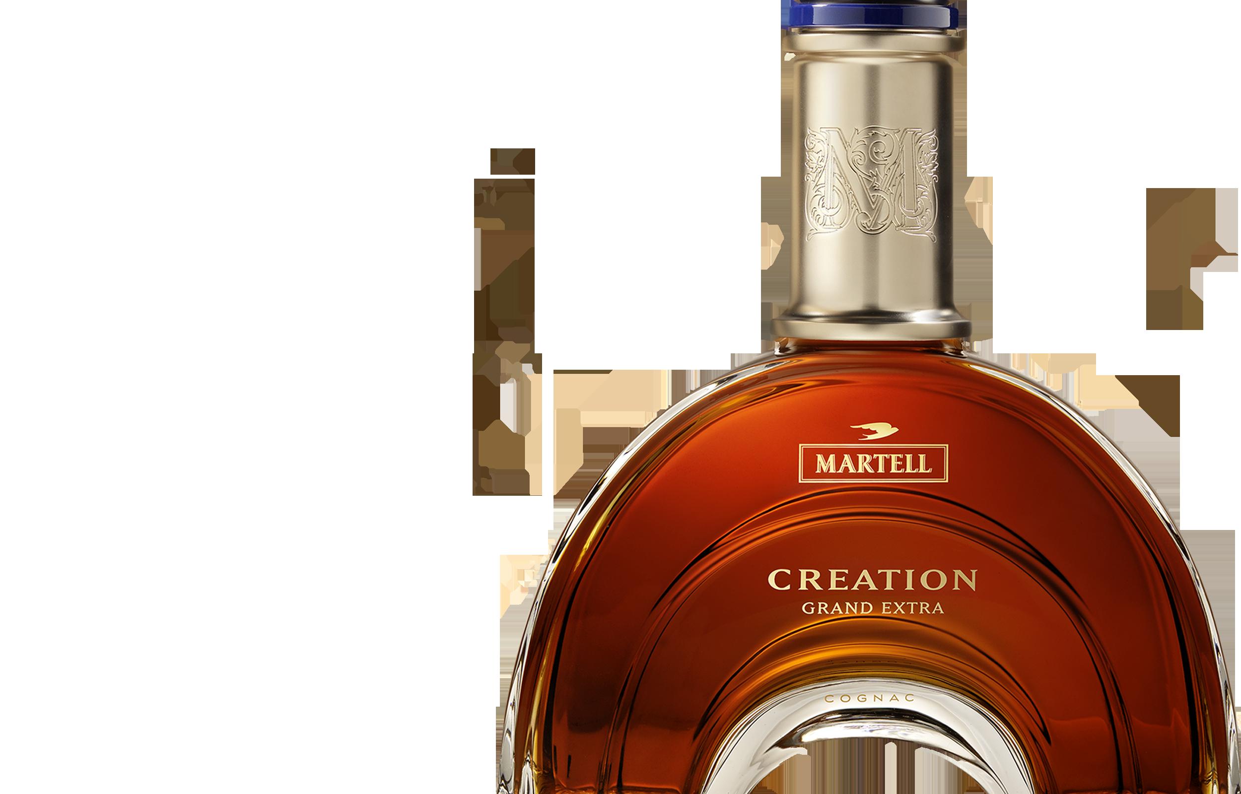 création grand extra a martell cognac