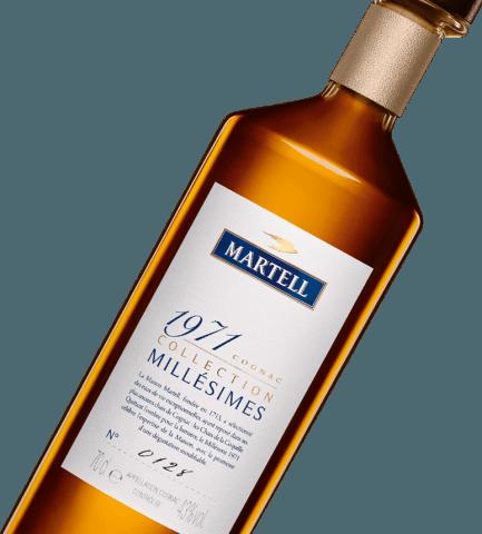 martell cognac millésimes 1971 bottle
