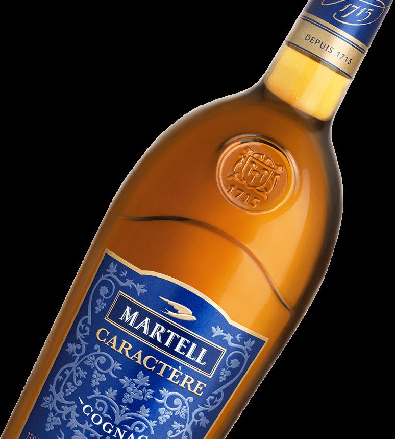 Jean Martell cognac caractere bottle