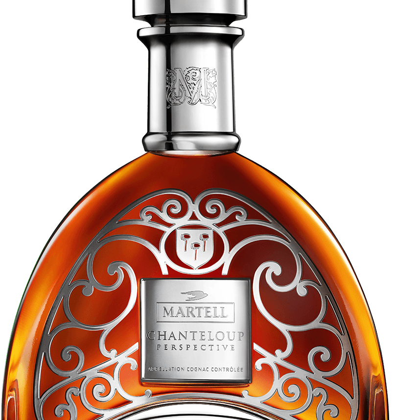 martell cognac chanteloup perspective bottle