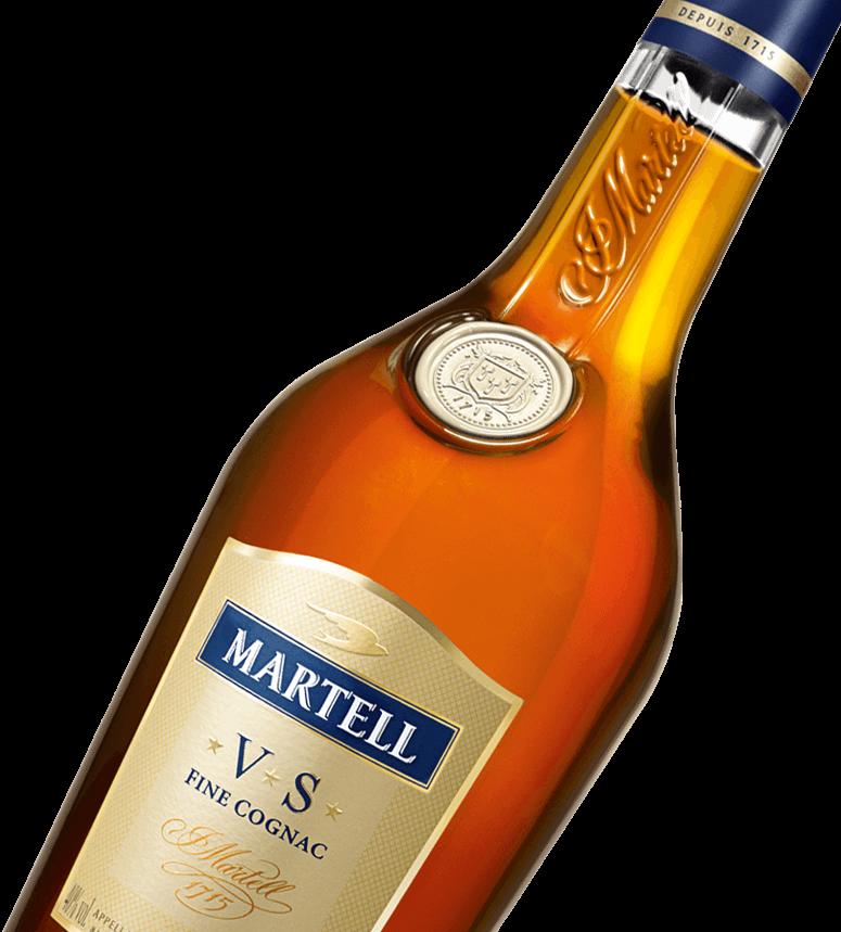 martell cognac vs bottle