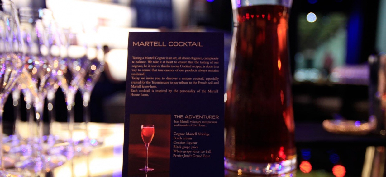 4 ateliers at the Palace of Versailles to discover the Art of Martell- Martell Cocktail