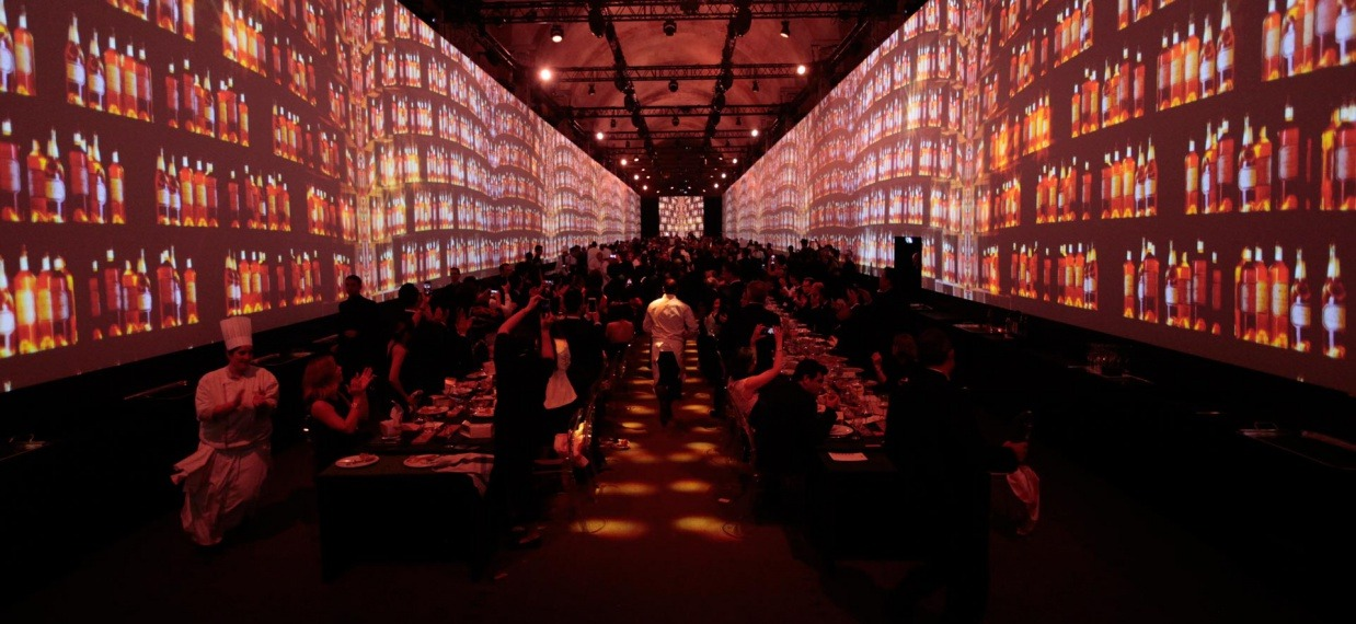 Paul Pairet's dinner at Versailles for Martell300 - A spectacular and extraordinarily convivial ending