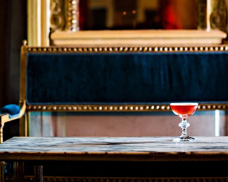 Martell cognac cocktail blackcurrant velvet