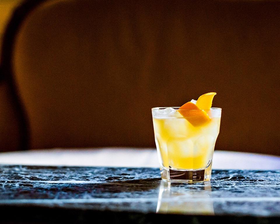 Martell cognac cocktail margarita