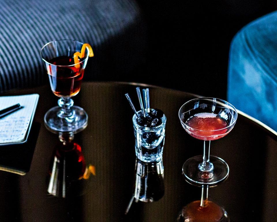 Martell cognac cocktail sidecar