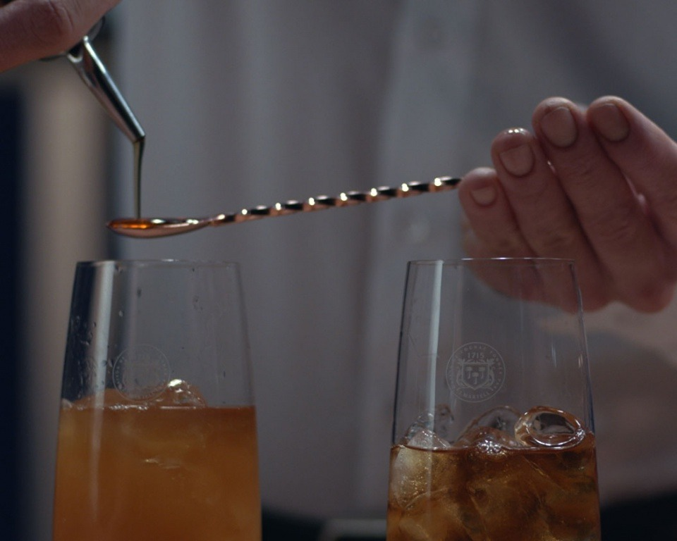 how to drink Cognac Martell