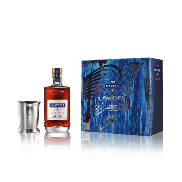 2019 MARTELL BLUE SWIFT END-OF-YEAR LIMITED EDITION Martell Blue Swift Limited Edition