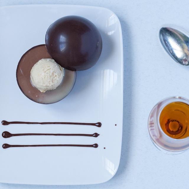 Surprise chocolate sphere  Surprise Chocolate Sphere