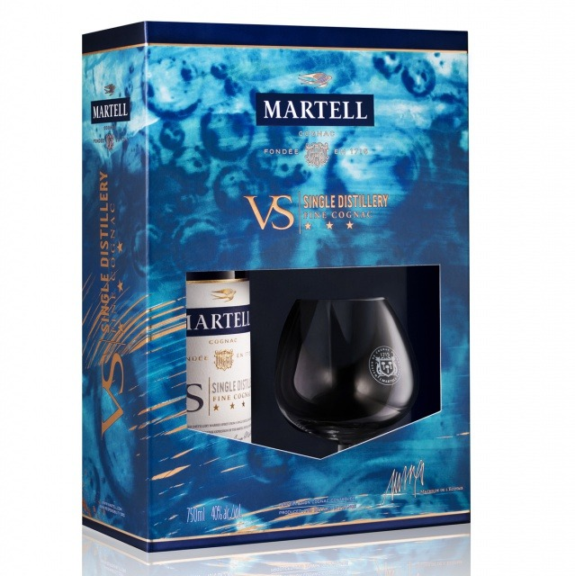 2019 Martell VS Single Distillery End-Of-Year Limited Edition Martell VS Single Distillery Limited Edition