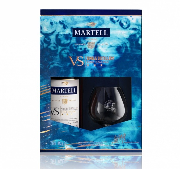 MARTELL VS SINGLE DISTILLERY LIMITED EDITION An easy, smooth and fruity blend.
