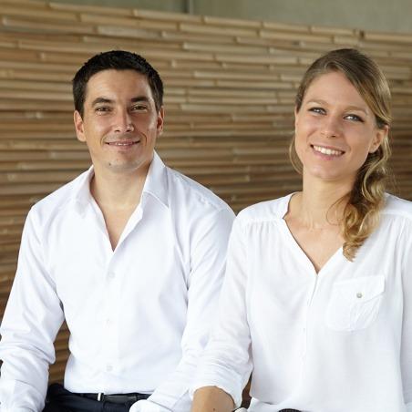 Thibaul Spitakis et Marine Lucchini, Mixology talents for France 300
