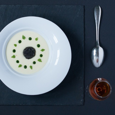 Turbot Fillet Oscietra caviar