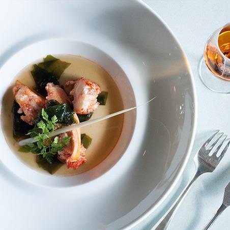 Oscietra caviar Breton Lobster