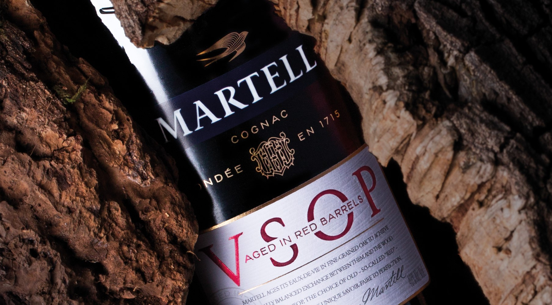 VSOP Aged In red barrels