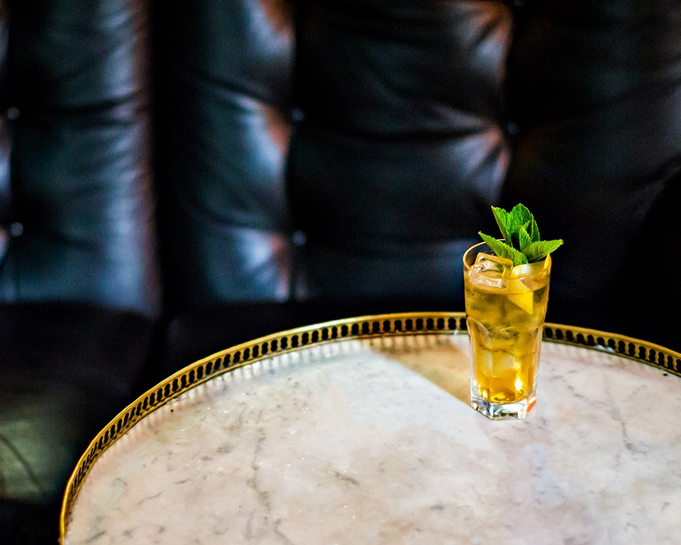 Martell cognac cocktail crisp green tea