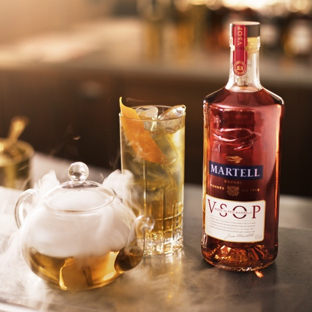 Martell VSOP Aged in Red Barrels LE VOYAGE DES AMANTS RECIPE