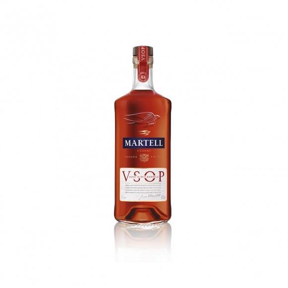 MARTELL V.S.O.P. AGED IN RED BARRELS Cognac 700ml bottle